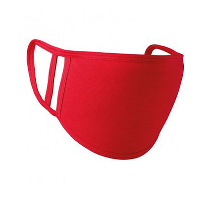 Adults Red Washable Face Covering