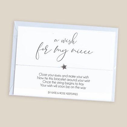 A Wish For My Niece Bracelet