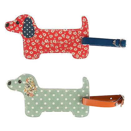 Dachshund Sausage Dog Travel Luggage Tag