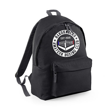 Hardknocks Amateur Boxing Club Kit - Black Backpack