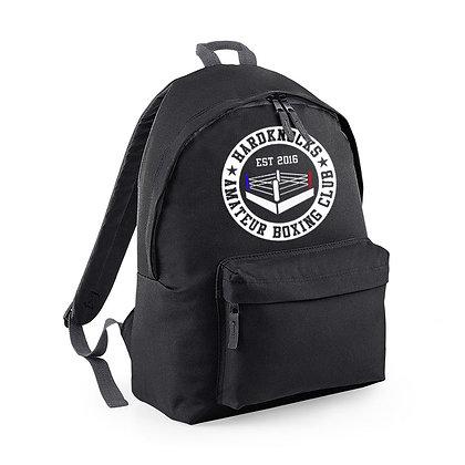 Hardknocks Amateur Boxing Club Kit - Black Backpack