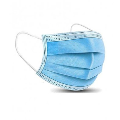 Pack Of 3-Ply Disposable Medical Face Mask