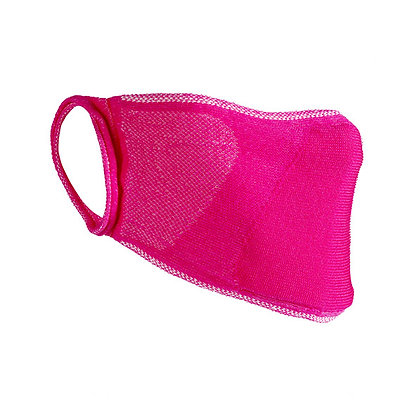 Adults Pink Washable Face Covering