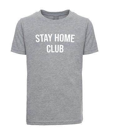 Stay Home Club Kids T-Shirt