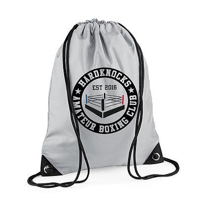 Hardknocks Amateur Boxing Club Kit - Grey Drawstring Bag