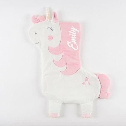 Personalised Magical Unicorn Christmas Gift Stocking