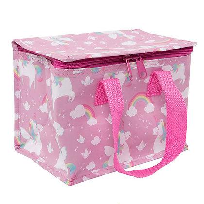 Purple Unicorn Insulated Lunch Bag