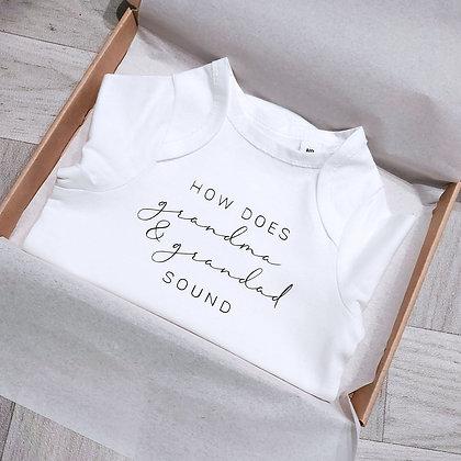 How Does Grandma & Grandad Sound Baby Vest