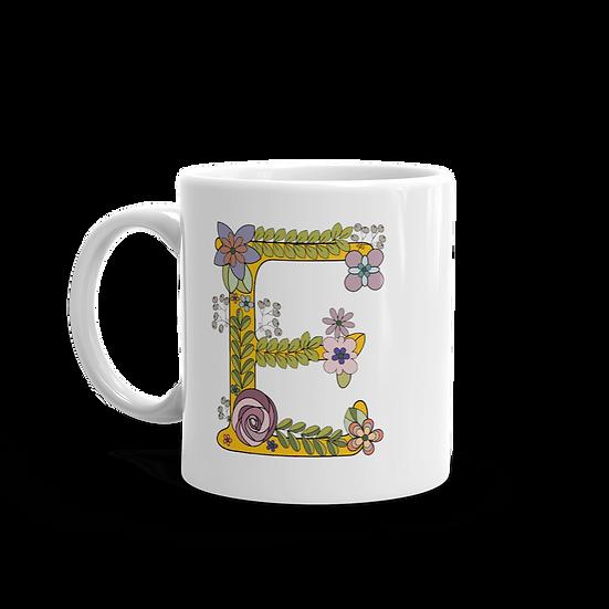 """""""E"""" Tea Mug"""
