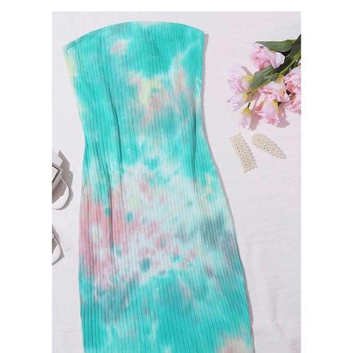 Cotton Candy Tube Dress
