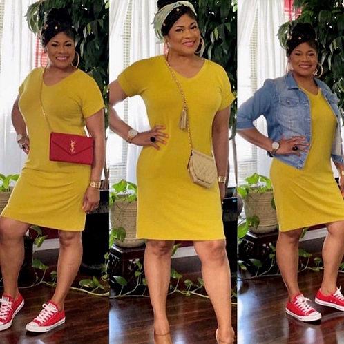 Step Into Spring Dress