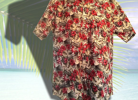 Chemise Tahitienne - taille XL