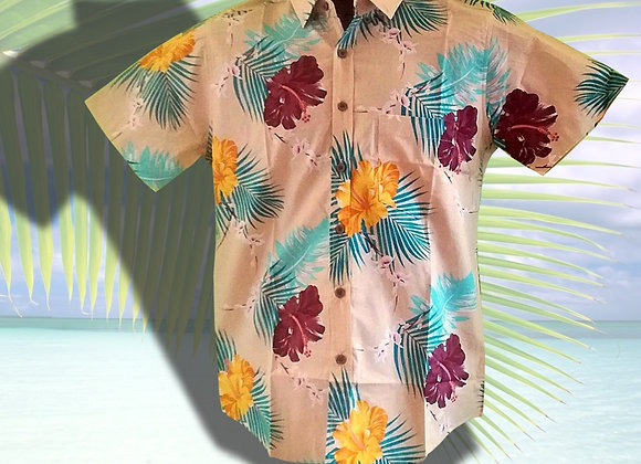 Chemise Tahitienne - taille ADO