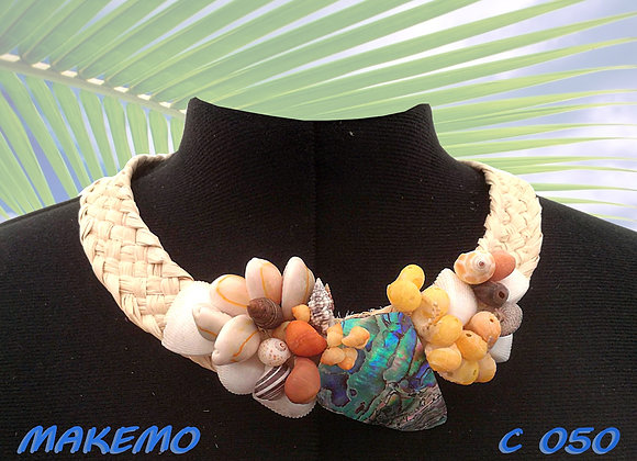 """MAKEMO"" Collier de Coquillages"