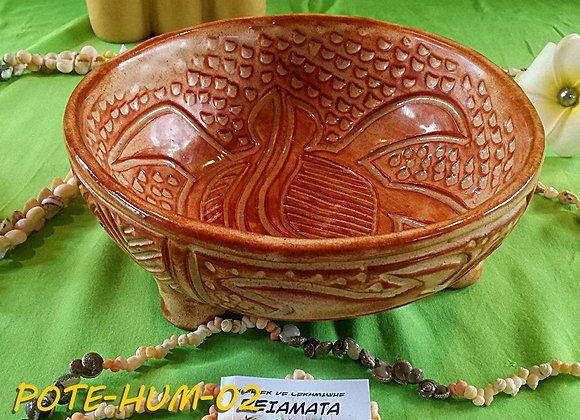 Umété Rond en poterie céramique