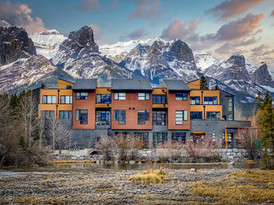 Policemen's Creek, Canmore  - Click to view full image
