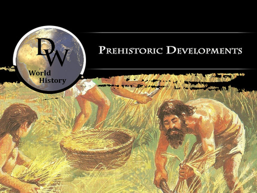 Prehistoric Developments of the Ancient Near East