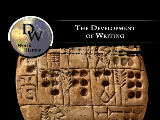 Ancient Near East - The Development of Writing