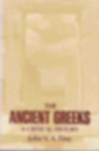 The Ancient Greeks - A Critical History.