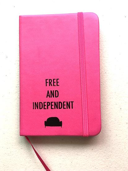 Pink pocket notebook