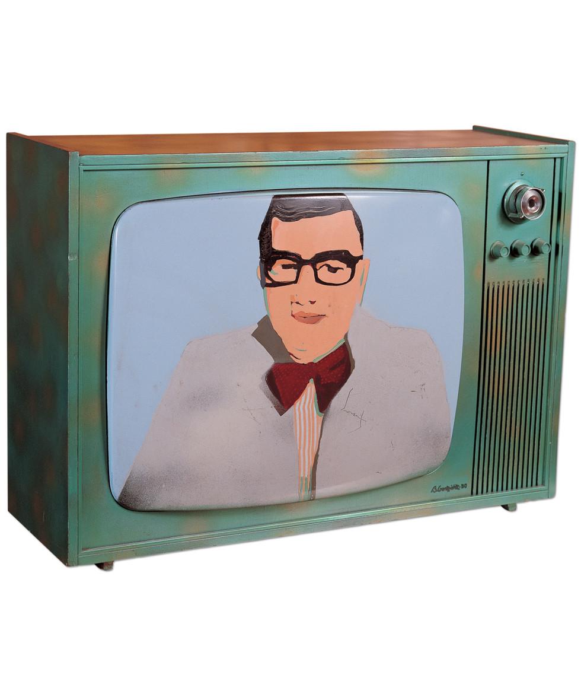 Televisor en color, 1980. Photography Laura Jiménez