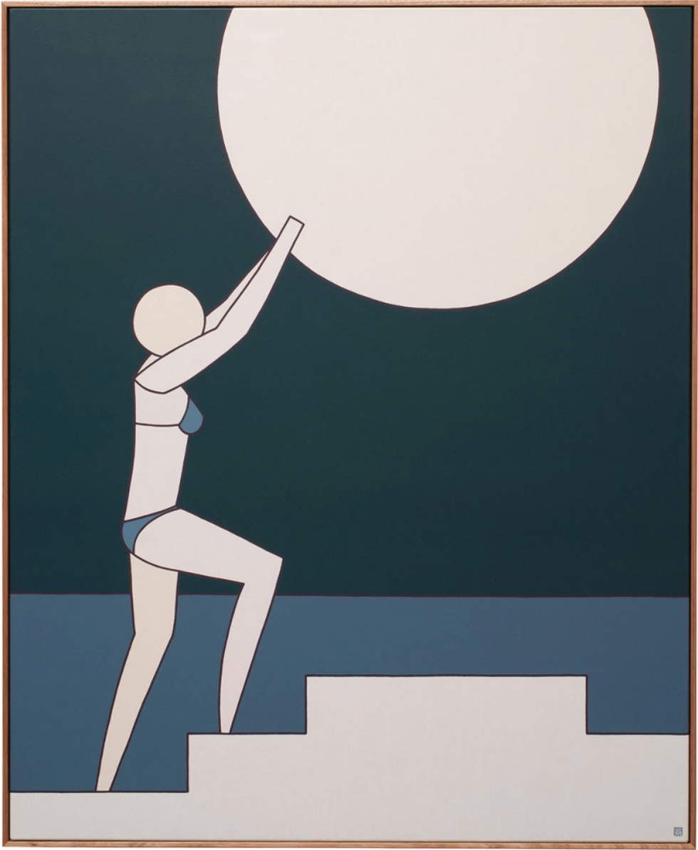 Placement of the Moon, 2018