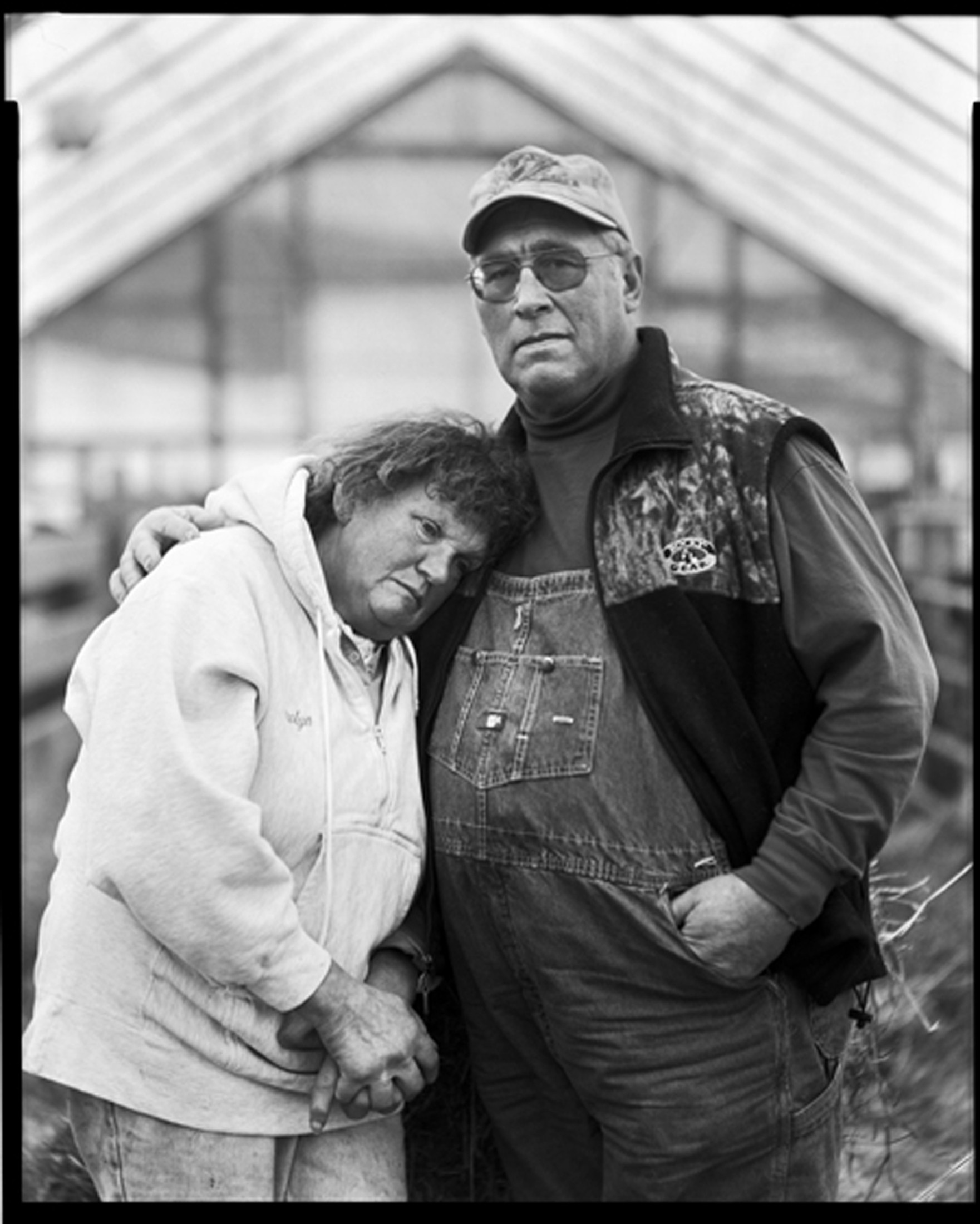 David and Carolyn Post Dairy Farmers. Delaware County, NY, 2005