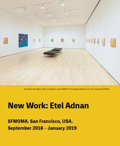 New work:Etel Adnan en San Francisco Museum of Modern Art (SFMOMA)