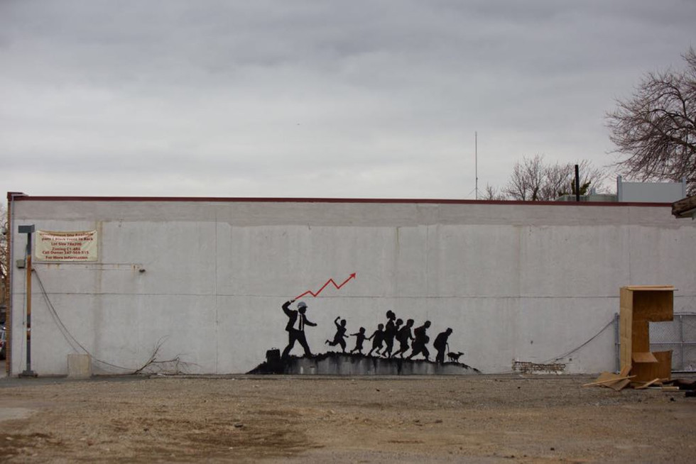 Courtesy of Pest Control Office, Banksy, Coney Island, 2018