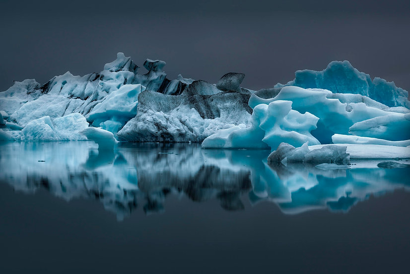 Roberta Marroquín - Iceberg, Iceland, 2018