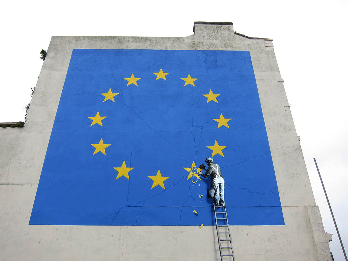 Courtesy of Pest Control Office, Banksy, Dover, 2017