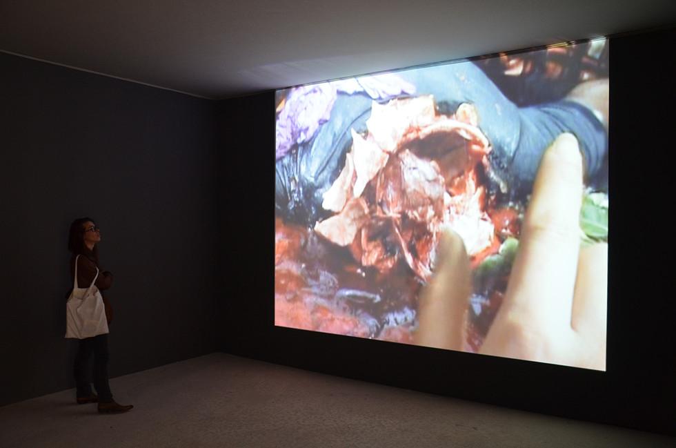 Touching Reality, 2012. 'Intense Proximity' - La Triennale, Palais de Tokyo, Paris, 2012. Courtesy Galerie Chantal Crousel Paris. Photography Romain Lopez