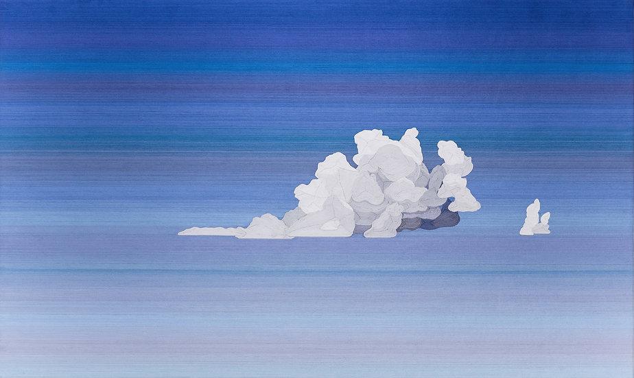 María Fernanda Barrero - Un jardín de nubes a la distancia,2018