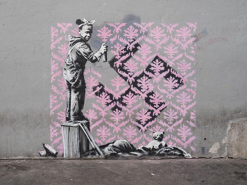 Courtesy of Pest Control Office, Banksy, Paris, 2018