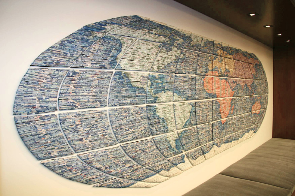 The Best Wall / The Best World, 2009. Equity Internacional Office Collection