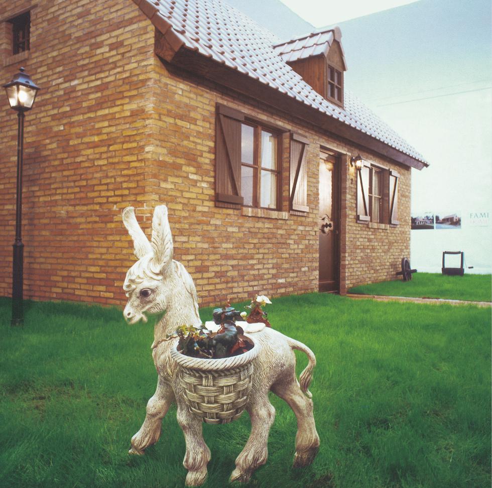 Installation Fami Home, Belgium Paviljoen, Biennal of Venice, 1988