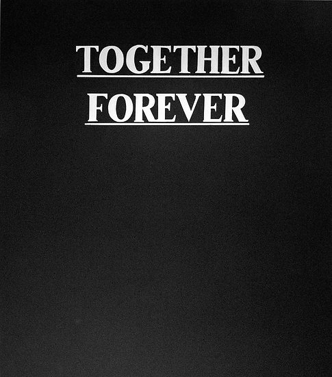 Daniel Pérez Ríos - Together forever, 2018