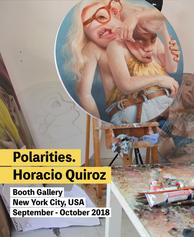 Polarities. Horacio Quiroz en Booth Gallery