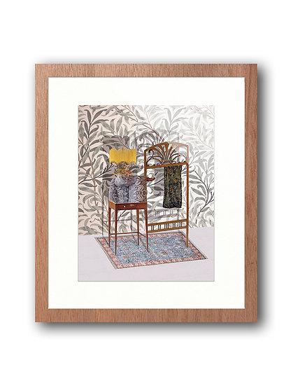 Ruth Aragón-Escultura con William Morris, John Ruskin y Alphonse Mucha, 2017