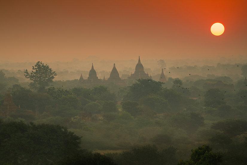 Roberta Marroquín - Bagan Myanmar, 2018