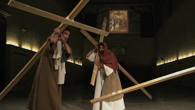 Casting Jesus, 2011. Installation view, Lisson Gallery, London