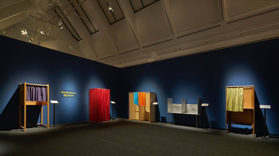Installation Voting Booth Museum, Power to the People, SMAK - Shirn Kunsthalle, 2000–19