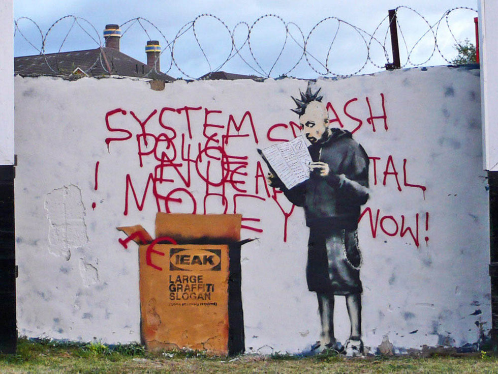 Courtesy of Pest Control Office, Banksy, London, 2009