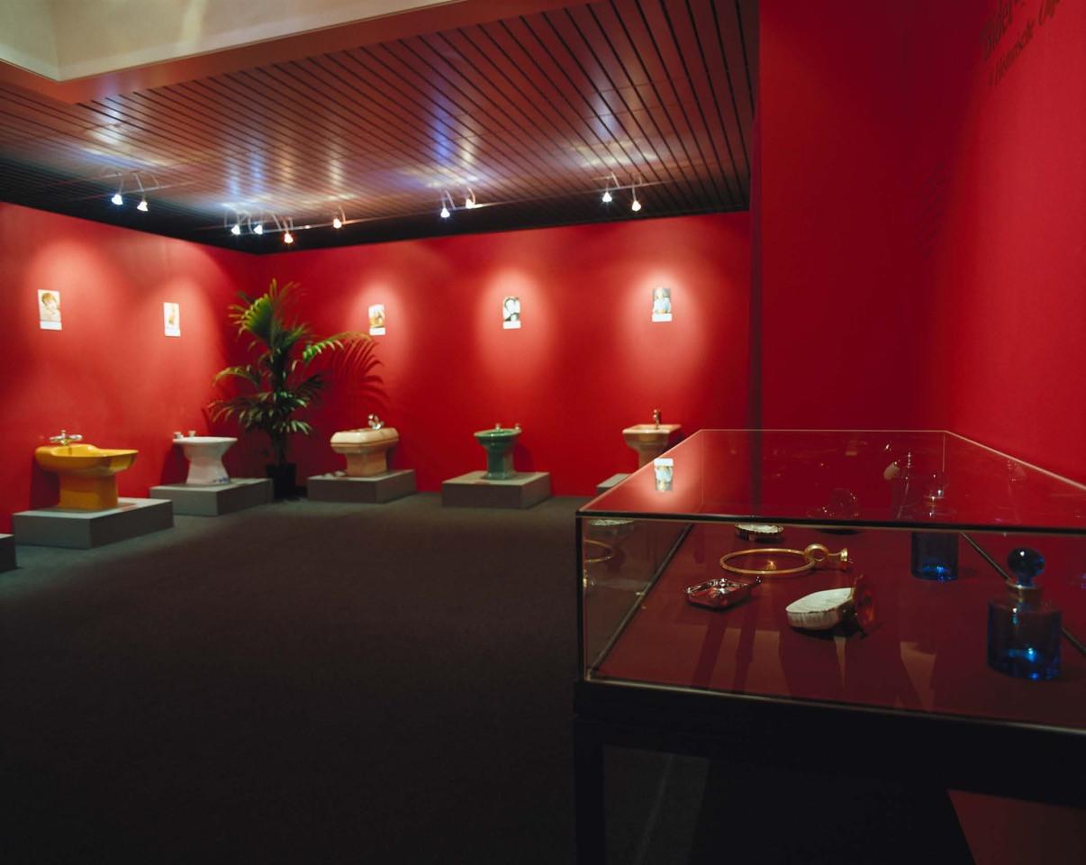 Installation Bidet Museum, De Koninck, Mechelen, 2002