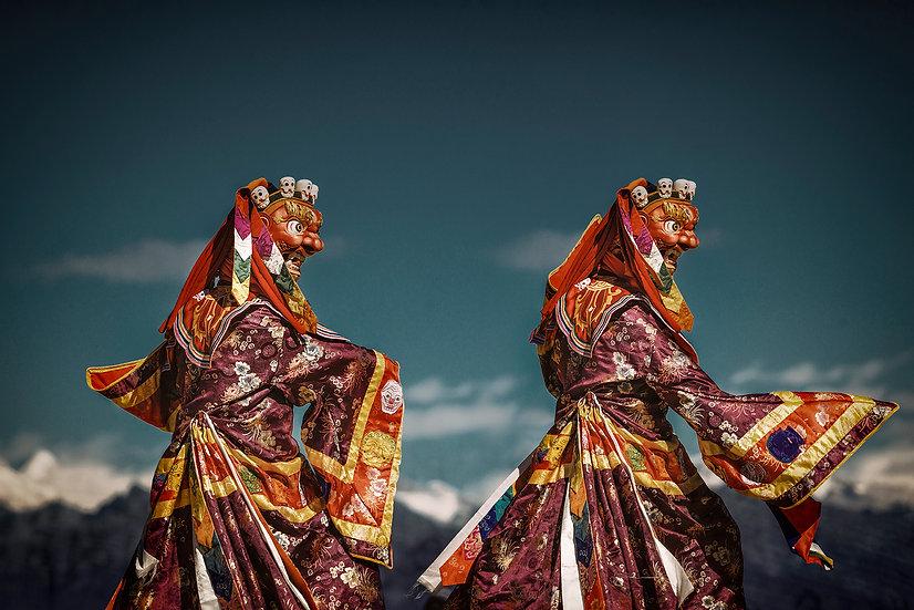 Roberta Marroquín - Himalayan Dochula dance, Bhutan 2018