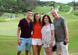 Fans at the Bermuda Championship