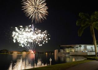 Post-Round Fireworks