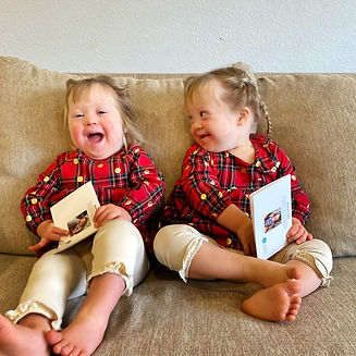 twins with cards.JPG