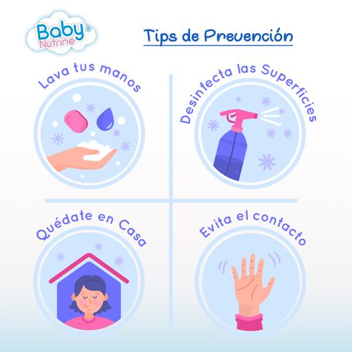 Tips de prevencion Baby Nutrine