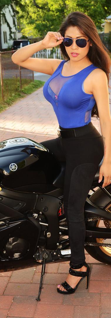 Jennifer Amor - Motorcycle -2